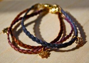 Lotus Flower Yoga Bracelet